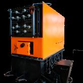 Котлы КВТ-МА  с механизированной загрузкой топлива с гидротолкателем и наклонной подвижной колосниковой решеткой